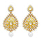 Jheel Kundan Gold Plated Austrian Stone Dangler Earrings