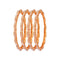 Femmibella Gold Plated Pearl Studded Kada Bangle for Womens
