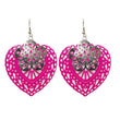 The99Jewel Zinc Alloy Silver Plated Dangler Earring - 1306448E - FS