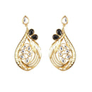 Kriaa Gold Plated Stone And kundan Dangler Earring