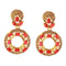 Kriaa Kundan Gold Plated Dangler Earring