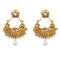 Kriaa White Austrian Stone Dangler Earrings