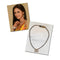 Kriaa Gold Plated White Glass stone Mangalsutra
