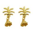 Kriaa Zinc Alloy Gold Plated Dangler Earring
