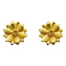 Kriaa Zinc Alloy Gold Plated Stud Earring