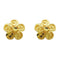 Kriaa Gold Plated Zinc Alloy Stud Earring