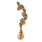 Urthn Austrian Stone Gold Plated Single Ear Cuff