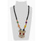 Urthn Multicolor Beads & Stone Rabbit Shape Necklace