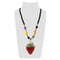 Urthn Multicolor Beads & Stone Grape Shape Necklace