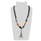 Urthn Gold Plated Beads And Austrian Stone Necklace