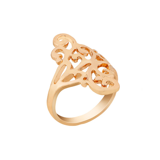Urthn Zinc Alloy Gold Plated Ring