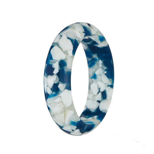 Urthn Zinc Alloy White & Blue kada
