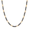 Urthn 2 Tone Plated Chain Necklace For Mens
