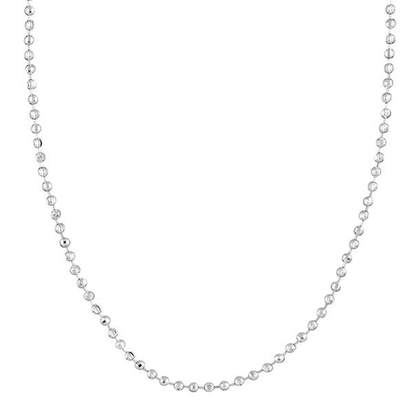 Urthn Silver Plated Chain Necklace For Mens