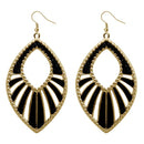 Urthn Gold Plated Dangler Earrings