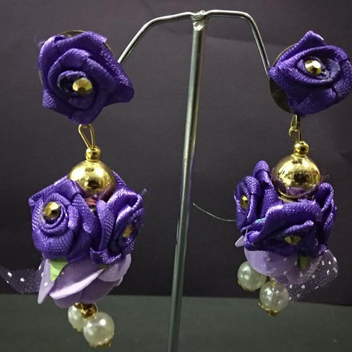 Urthn Floral Design Dangler Earrings