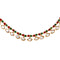 Asmitta Traditional Gold toned Multicolor Beaded Anklets for women