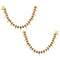 Asmitta Stunning Kundan Pearl Studded Anklets for women