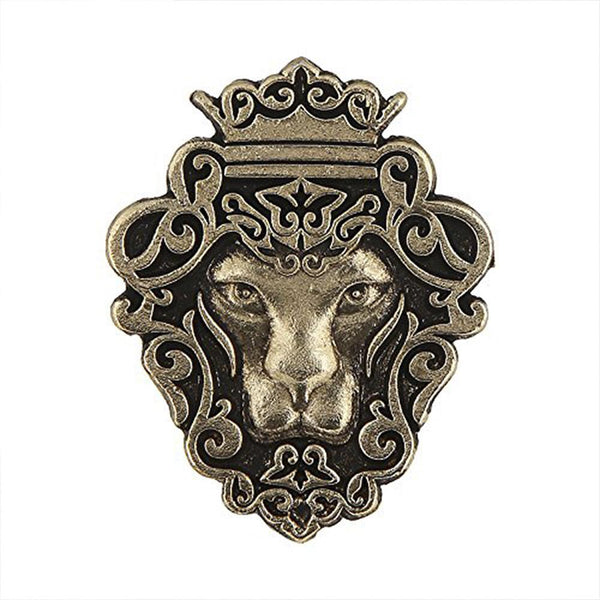 Mahi Lion Shape Tie Tack Lapel Pin Brooch