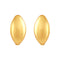 Asmitta Exquisite Gold toned Bali Hoop Earring For Women - EB154AJGLDJ5