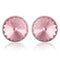 Mahi Bold Pink Earrings Made with Swarovski Crystals