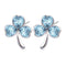 Mahi Valentine collection swarovski crystal earrings