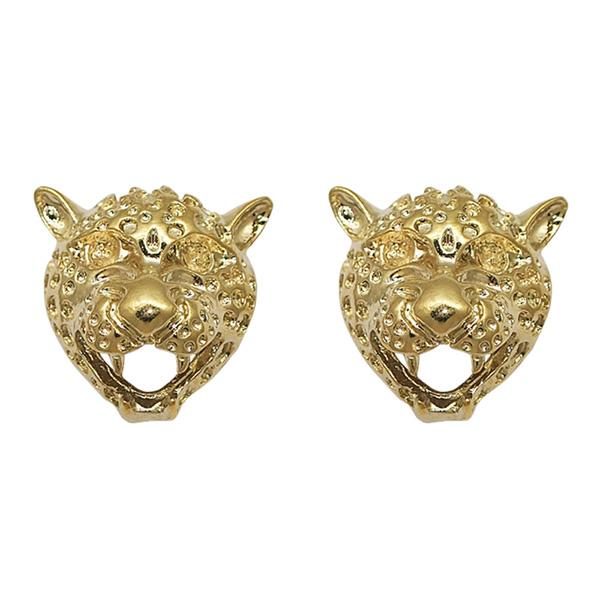 Beadside Gold Plated Stud Earrings