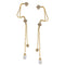 Eugenia Austrian Stone Gold Plated Ear Cuff