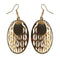 The99Jewel Austrian Stone Gold Plated Dangler Earring  - 1306416 - AS
