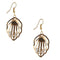 The99Jewel Austrian Stone Gold Plated Dangler Earring - 1306417 - FS