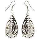 The99Jewel Stone Rhodium Plated Dangler Earring