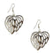 The99Jewel Stone Rhodium Plated Dangler Earring - 1306442 - FS