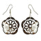 The99Jewel Stone Rhodium Plated Dangler Earring  - 1306443 - AS