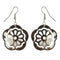 The99Jewel Stone Rhodium Plated Dangler Earring - 1306443 - FS
