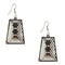 The99Jewel Stone Rhodium Plated Dangler Earring  - 1306445 - AS