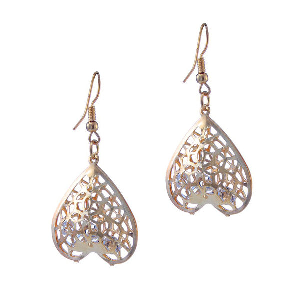 The99Jewel Gold Plated Austrian Stone Dangler Earring