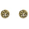 Jeweljunk Golden Studs Earrings - N1302814