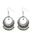 Jeweljunk Beads Drop Rhodium Plated Dangler Earring