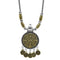 Jeweljunk 2 Tone Plated Boho Necklace