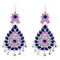 Jeweljunk Pink  Meenakari Afghani Dangler Earrings