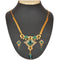 The99jewel Blue Kundan Meenakari  Necklace Set