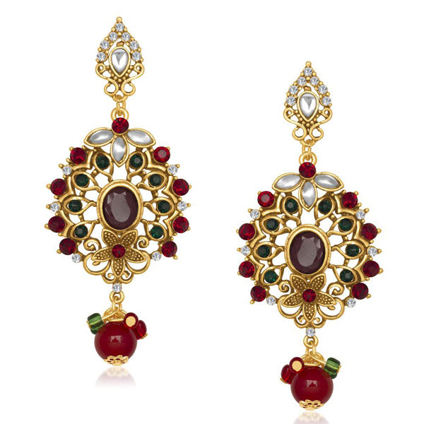 The99Jewel Kundan Austrian Stone Dangler Earring