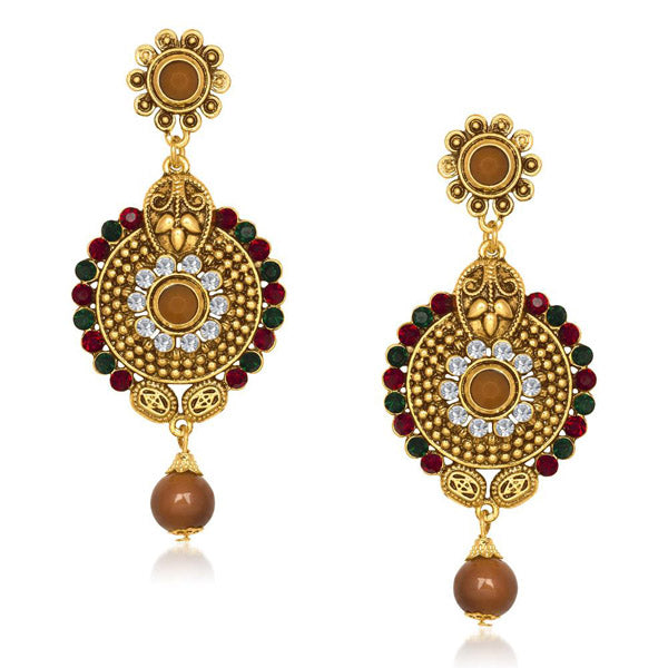 The99Jewel Austrian Stone Dangler Earring