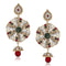 Soha Fashion Stone Antique Gold Plated Dangler Earrings