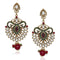 The99Jewel Kundan Multicolor Meenakari Dangler Earrings