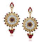 Soha Fashion Antique Gold Plated Dangler Earrings
