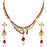 The99jewel Pink Austrian Stone Necklace Set