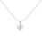 The99Jewel Austrian Stone Silver Plated Chain Pendant