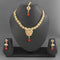 Sai Raj Copper Necklace Set With Maang Tikka