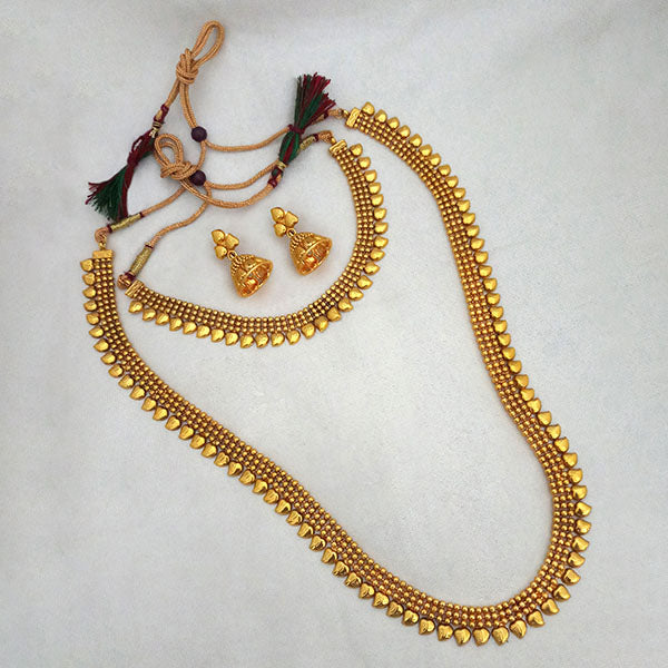 Sai Raj Double Copper Necklace Set